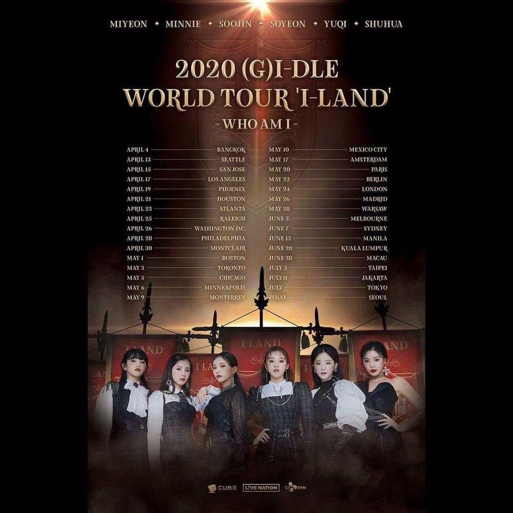 G)I-DLE 2020年北美巡演| Dr.Tickets票博士